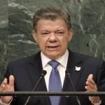Na ONU, líder da Colômbia celebra fim de 'guerra' com as Farc