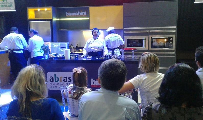Cozinha Show da ABRASEL é um dos destaques da FICC 2016