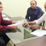 Edson Martins garante emenda para construção de praça em Nova Dimensão