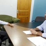 Deputado Jean Oliveira recebe visita do vice prefeito eleito de Candeias do Jamarí