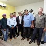 Luizinho se reúne com prefeito e vereadores eleitos de São Miguel