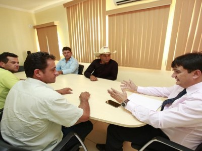 Cleiton Roque continuará ajudando o município de Novo Horizonte