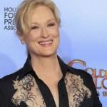 Globo de Ouro concederá a Meryl Streep prêmio pelo conjunto da obra