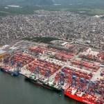 Movimento de mercadorias no porto de Santos tem queda