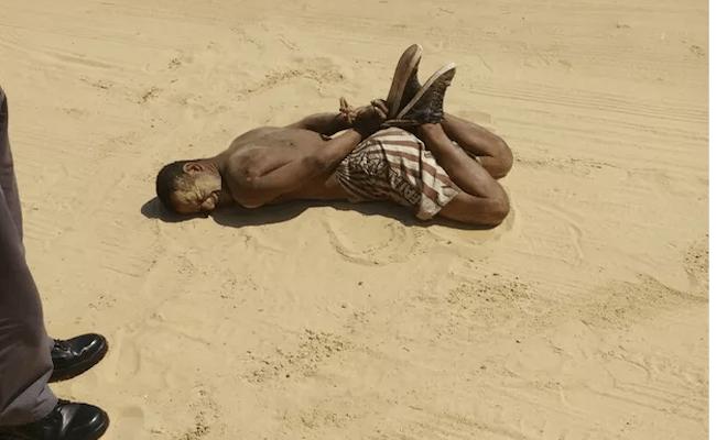 Homem tenta estuprar adolescente e acaba sendo amarrado em praia de SP