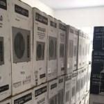 Condicionadores de ar roubados são encontrados em igreja evangélica