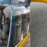 Urubu quase derruba helicóptero da PRF; copiloto ficou ferido