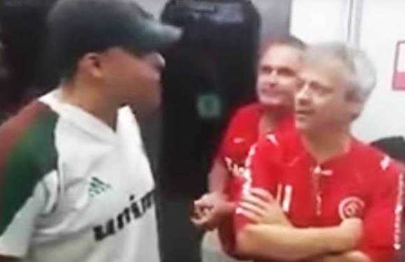 Torcedor do Fluminense intimida colorado e vê sua vida virar um inferno