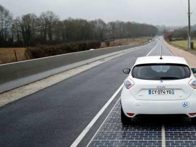 """Primeira """"estrada solar"""" do mundo fica na França"""