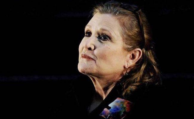 Carrie Fisher, princesa galáctica e sua vida de álcool e drogas