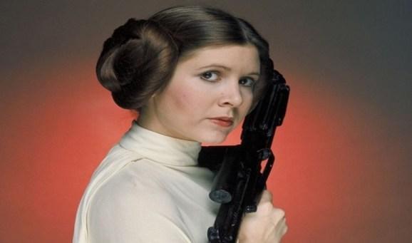 Carrie Fisher, a eterna Princesa Leia