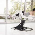 Aparelho de exercício usa realidade virtual e transforma malhação em jogo