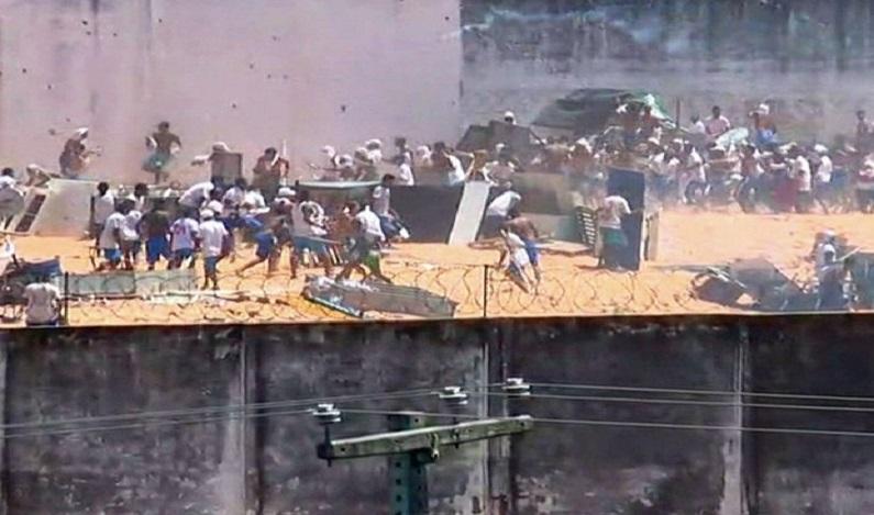 PCC ameaça atacar ruas se rivais não saírem de Alcaçuz, no RN