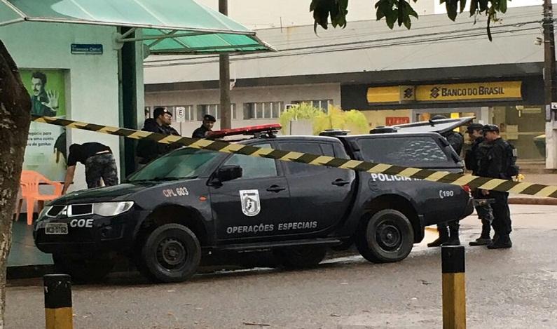 Agência do Banco do Brasil em Porto Velho é isolada por suspeita de bomba