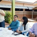 Cleiton Roque participa em solenidade da ordem de serviço de reforma e ampliação de escola