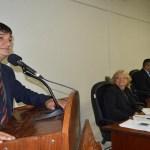 Cleiton Roque participa da primeira sessão ordinária em Pimenta Bueno