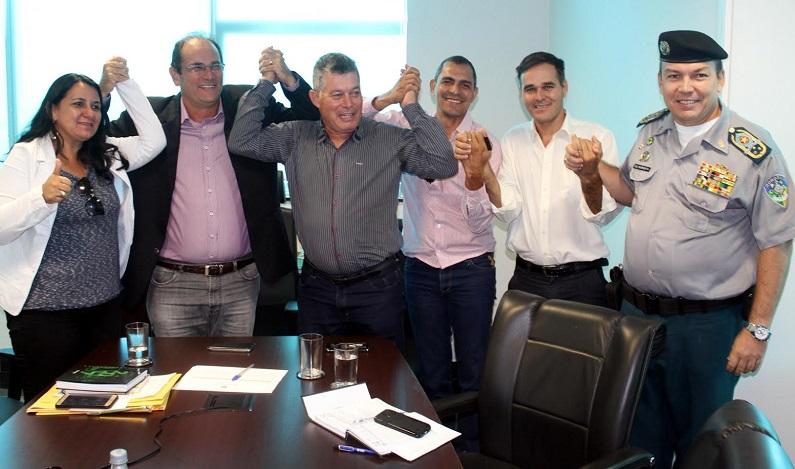Deputado Edson Martins garante recursos para videomonitoramento em Urupá