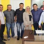 Deputado Edson Martins se reúne com prefeito de Theobroma