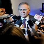 Renan confirma Eunício como candidato do PMDB à Presidência do Senado