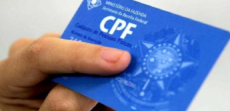 Maiores de 12 anos terão que tirar CPF se forem dependentes no IR