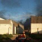 PM diz que detentos causaram fogo em presídio de RO antes de fugirem