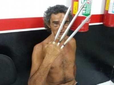 """""""Wolverine"""" ameaça casal e é detido no interior de SP"""