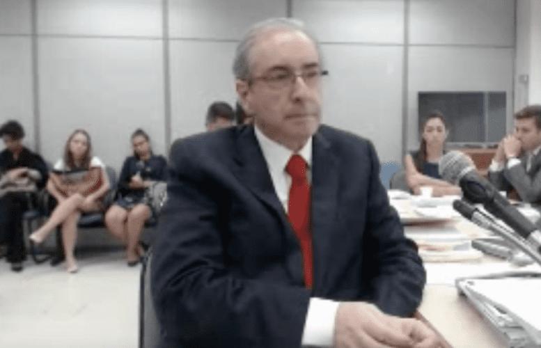 Assista na ÍNTEGRA o depoimento de Eduardo Cunha a Sérgio Moro