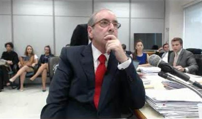 """Cunha critica Moro e se defende, """"minha prisão é um troféu"""""""