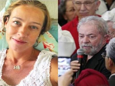 Luana Piovani diz que Lula fez 'draminha' em fala sobre Marisa