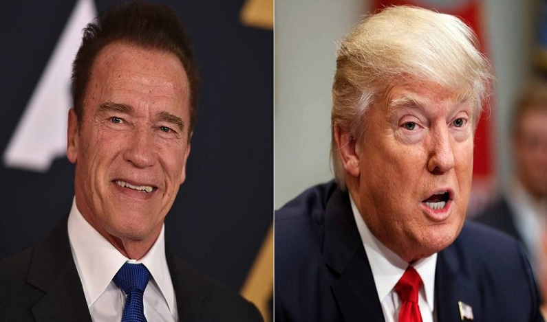 A polêmica entre Donald Trump e o ator Arnold Schwarzenegger, seu sucessor no 'Aprendiz' americano