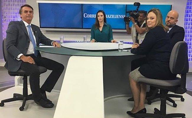 """Em entrevista, Bolsonaro se compara a Trump, mas dispara: """"Vou ser melhor""""; Assista"""
