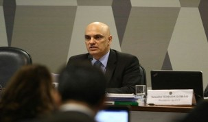 Indicação de Moraes ao STF é aprovada na CCJ e segue para o plenário do Senado