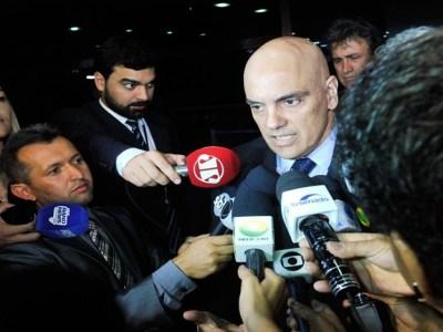 CCJ recebe relatório sobre indicação de Moraes para o STF na terça-feira