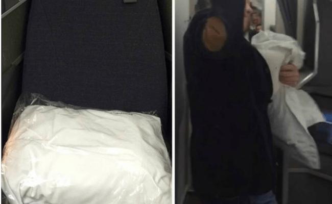 """Eike pode ter """"roubado"""" travesseiro da American Airlines, e vira piada na internet"""