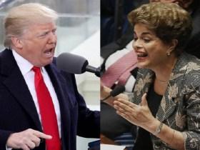 Trump e Dilma agem de modo igual, dizem 'Forbes' e 'Bloomberg'
