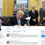 Trump usa Twitter da presidência para reclamar de como loja tratou sua filha