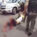 Policial militar atira em manifestante durante protesto contra violência em PE; veja vídeo