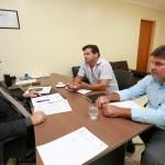 Cleiton Roque recebe vereadores de Novo Horizonte