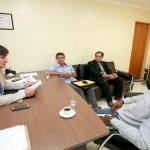 Cleiton Roque se reúne com representantes de São Felipe do Oeste