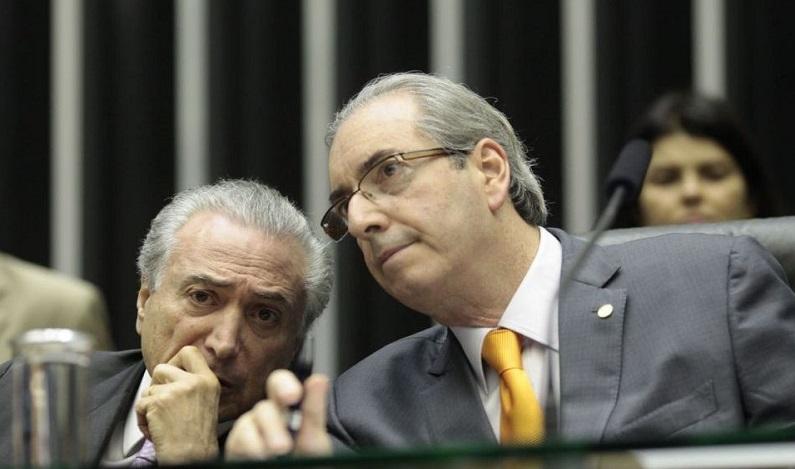 Juiz autoriza envio de perguntas de Cunha para Temer