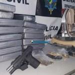 Denarc prende casal com 30 quilos de cocaína em fundo falso de caminhonete