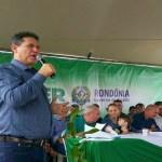 Maurão de Carvalho participa de inaugurações em São Francisco do Guaporé