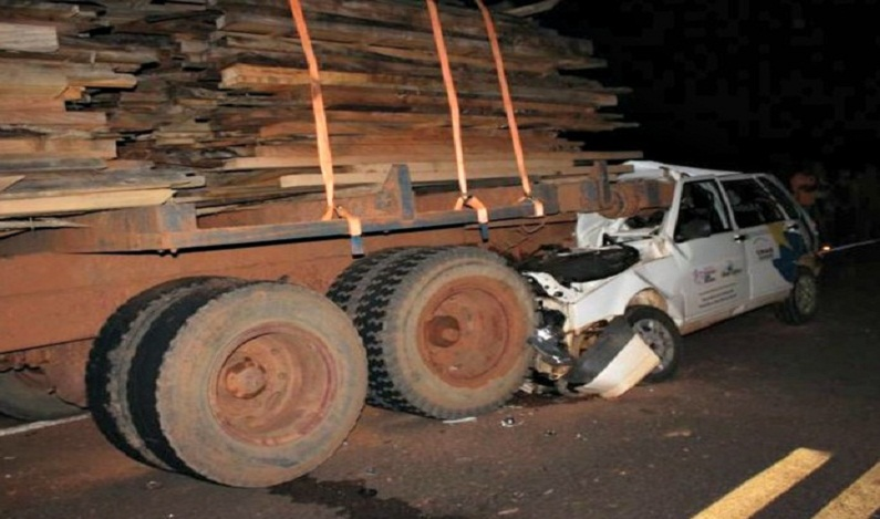 Acidente com carro de prefeitura mata mulher, filha e sogra de vice-prefeito