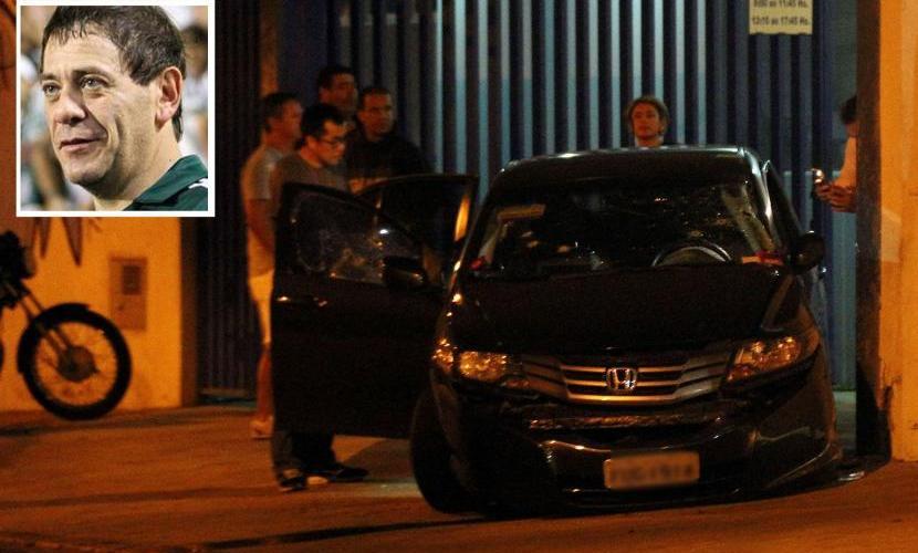 """Fundador da """"Mancha Verde"""" é assassinado com 22 tiros; Câmeras registraram ação, veja"""