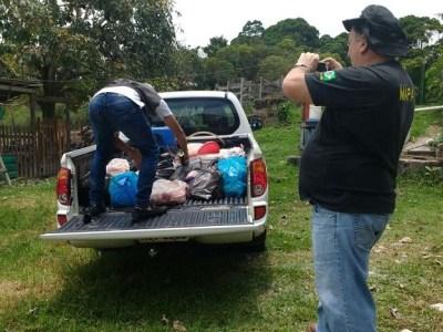 PM apreende 400 Kg de carne podre da Venezuela que seria consumida em churrascaria de Boa Vista