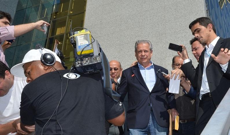 José Dirceu é alvo de nova denúncia na Operação Lava Jato
