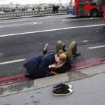 A história por trás de uma imagem trágica do atentado em Londres