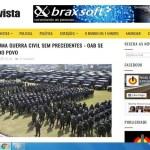 Guerra civil não foi declarada no Brasil, nem tem o apoio da OAB