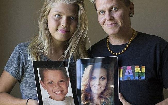 Transgênero em família: Mãe virou pai e filho virou filha