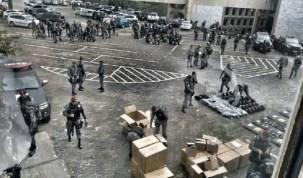 Na véspera da greve geral, Força Nacional desempacota bombas de gás em Brasília